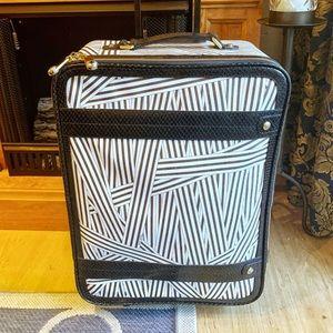 Henri Bendel Disturbed Stripe Suitcase
